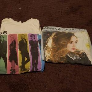 Concert shirts
